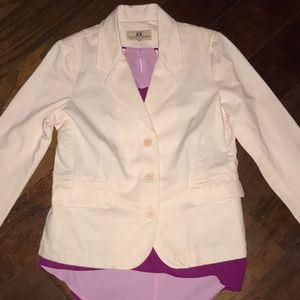 Juicy Couture Jeans pink jacket blazer coat 37 M